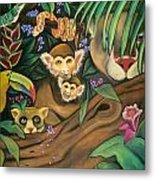 Jungle Fever Metal Print by Juliana Dube