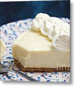 Just One Bite Of Key Lime Pie Metal Print by Andee Design