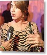 Kalki Koechlin Animated Metal Print by Kantilal Patel