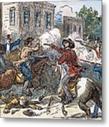 Kansas-nebraska Act, 1856 Metal Print by Granger