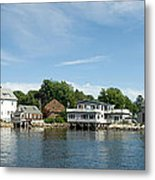 Kennebunkport Maine Metal Print by Jim Chamberlain