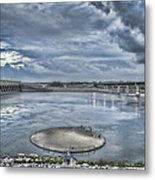 Kentucky Dam Dusk Metal Print by Jim Pearson