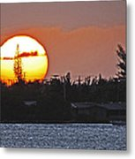 Key West Sunset Metal Print by T Guy Spencer