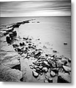 Kimmeridge Bay Metal Print by Nina Papiorek