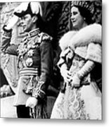 King George Vi, Queen Elizabeth Metal Print by Everett