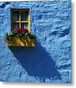 Kinsale, Co Cork, Ireland Cottage Window Metal Print by The Irish Image Collection