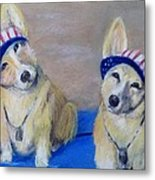 Kipper And Tristan Metal Print by Trudy Morris