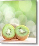 Kiwi Bush Metal Print by Peter Chadwick LRPS