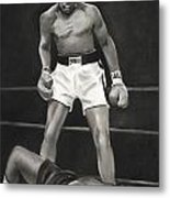 Knockdown Metal Print by L Cooper
