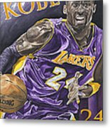 Kobe Bryant Metal Print by David Courson