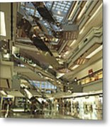 Kowloon Tong Festival Walk, The Newest Metal Print by Justin Guariglia