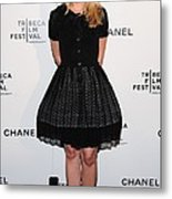 Kristen Bell At Arrivals For Chanel Metal Print by Everett