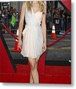 Kristen Bell Wearing A Dress By J Metal Print by Everett