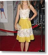 Kristen Bell Wearing A Valentino Dress Metal Print by Everett