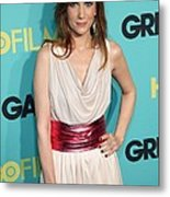 Kristen Wiig At Arrivals For Grey Metal Print by Everett