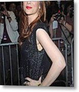 Kristen Wiig At Arrivals For The Annual Metal Print by Everett