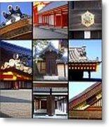 Kyoto Imperial Palace Metal Print by Roberto Alamino