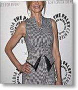 Kyra Sedgwick Wearing An Antonio Metal Print by Everett