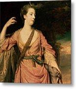Lady Dawson Metal Print by Sir Joshua Reynolds