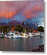 Lahaina Harbor Metal Print by James Roemmling