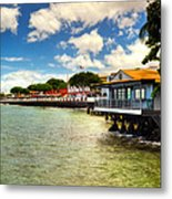 Lahaina Post Card 2 Metal Print by Kelly Wade