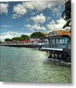Lahaina Postcard 3 Metal Print by Kelly Wade