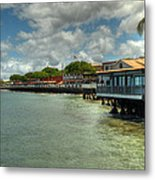 Lahaina Postcard 4 Metal Print by Kelly Wade