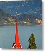 Lake Lucerne Metal Print by Brian Jannsen