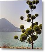 Lake Lugano - Monte Salvatore Metal Print by Joana Kruse