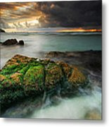 Lands End Metal Print by John Chivers