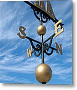 Largest Weathervane Metal Print by Ann Horn