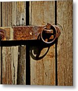 Latch Metal Print by Odd Jeppesen