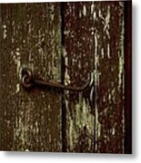 Latch Metal Print by The Stone Age