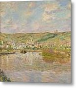 Late Afternoon - Vetheuil Metal Print by Claude Monet