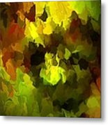 Late Summer Nature Abstract Metal Print by David Lane