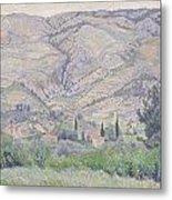 Le Ragas Near Toulon Metal Print by Camille Pissarro