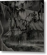Legend Of The Old House In The Swamp Metal Print by James Christopher Hill