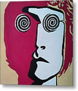 Lennon Metal Print by Kenny Cannon