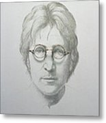 Lennon  Metal Print by Trevor Neal