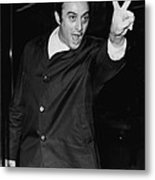 Lenny Bruce 1925-1966 Social Critic Metal Print by Everett