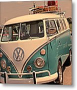 Let's Go Surf'in Metal Print by Tony Grider