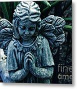Lets Pray Metal Print by Susanne Van Hulst