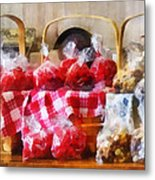 Licorice And Chocolate Covered Peanuts Metal Print by Susan Savad