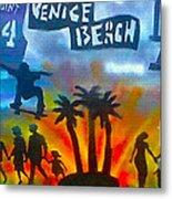Life's A Beach Metal Print by Tony B Conscious