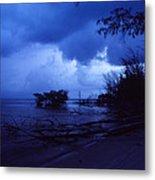 Lifting Storm Metal Print by Bob Whitt