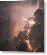 Lightning Man Metal Print by Paul Madura