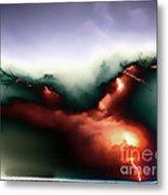 Lightning Strike Metal Print by Graham Taylor
