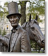 Lincoln Statue, 2008 Metal Print by Granger