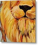 Lion Of Judah Metal Print by Diana Kaye Obe