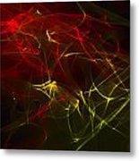 Liquid Saphire 19 Metal Print by Cyryn Fyrcyd